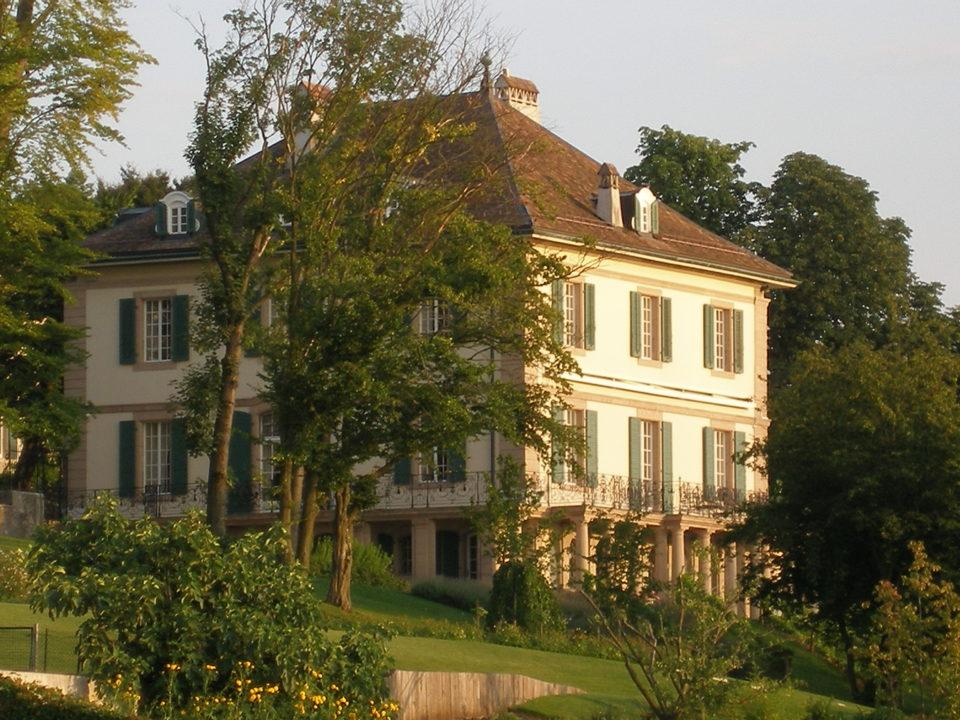 Villa Diodati oggi